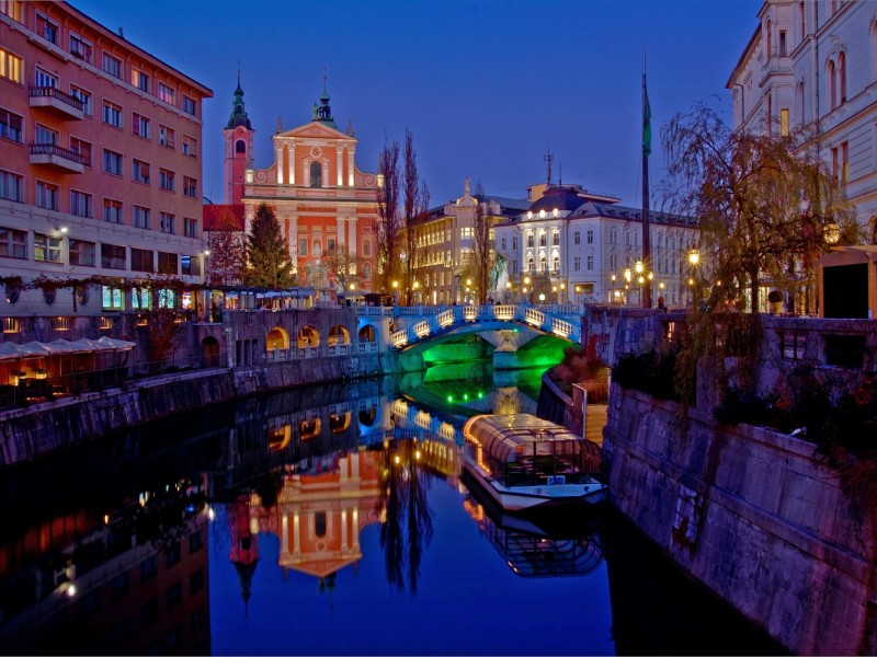 Evening view (Source: www.visitljubljana.com, A. Kuchno)